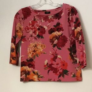 🍁Talbots Floral Top🍁